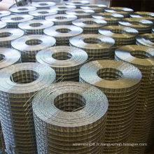 Treillis métallique soudé soudé par acier inoxydable de treillis métallique