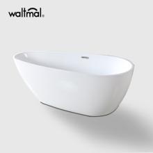 Modern Style Acrylic Freestanding Bathtub