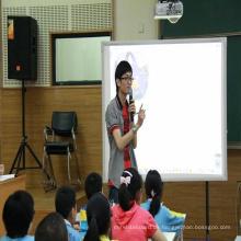 Tragbares interaktives Whiteboard in goldener Qualität für Unterricht oder Besprechungen