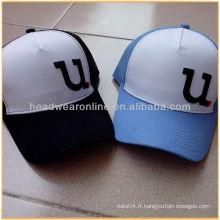 5 panneaux de chapeaux de sport en maille fraîche / chapeaux de baseball de haute qualité fabriqués au Guangdong
