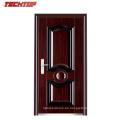TPS-006 2017 Puertas de entrada Diseño de puerta de seguridad exterior plana