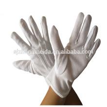 Guantes de algodón blanco adulto