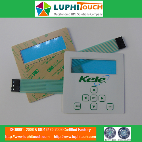 UV-Resistant Waterproof Membrane Keypad