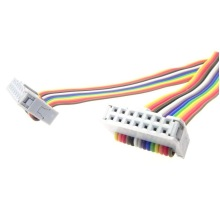 Câble à ruban arc-en-ciel plat à pas de 40 broches de 1,0 mm/1,27 mm
