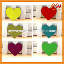 Aimant de réfrigérateur personnalisé en forme de coeur délicat pour différents pays