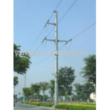 110KV Single-Circuit Strain Power Pole