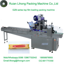 Gzb-250A High Speed Pillow-Type Automatic Round Waffles Wrapping Machine