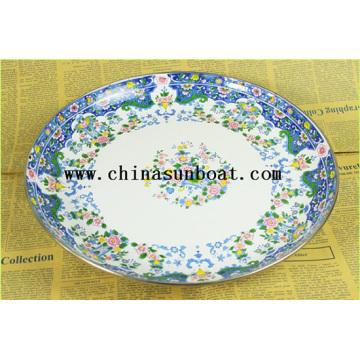 Enamel Food Plate Dinnerware