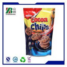 Stehen Sie Kartoffelchip Aluminiumfolie Lebensmittel Verpackung Tasche