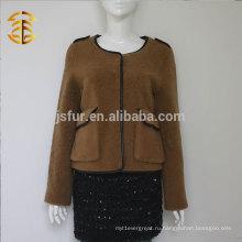 Высокое качество Классический Подлинная Шерстяная меховая куртка Одеяло