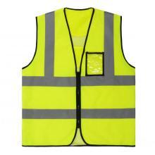 classic style PVC CARD pocket safety vest