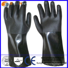 double dipped Sandy Finish PVC glove work glove