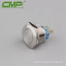 Interruptor de botón de 28 mm con cable de alimentación