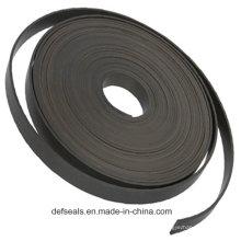 Fita de guia PTFE preenchida com carbono / faixa de desgaste