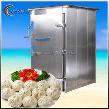 Export standard stainless steel bread bun steam oven