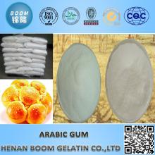Arabisches Gummi-Pulver in gebackenem Essen