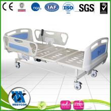 BDE302 Günstige Zwei-Funktion Elertic Krankenhaus Bett Mit ABS Seitenschienen