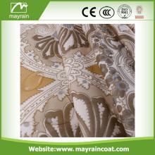 Silver Glass Curtain Rod Finials Shower Curtain