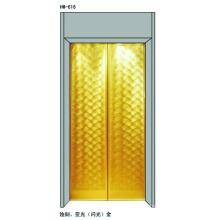 Paneles de la puerta del elevador para el elevador del pasajero 630Kgs
