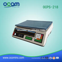 OCPS-218 5~40kg waterproof electronic digital pricing computing scale manufacturer
