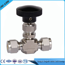 Stainless steel one way gas valve