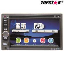 6.5inch doble DIN 2DIN reproductor de DVD de coche con sistema Wince Ts-2501-2