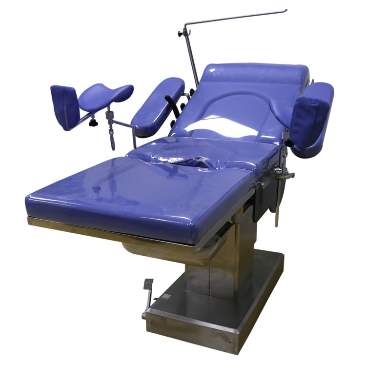 Electric gynecological examining table