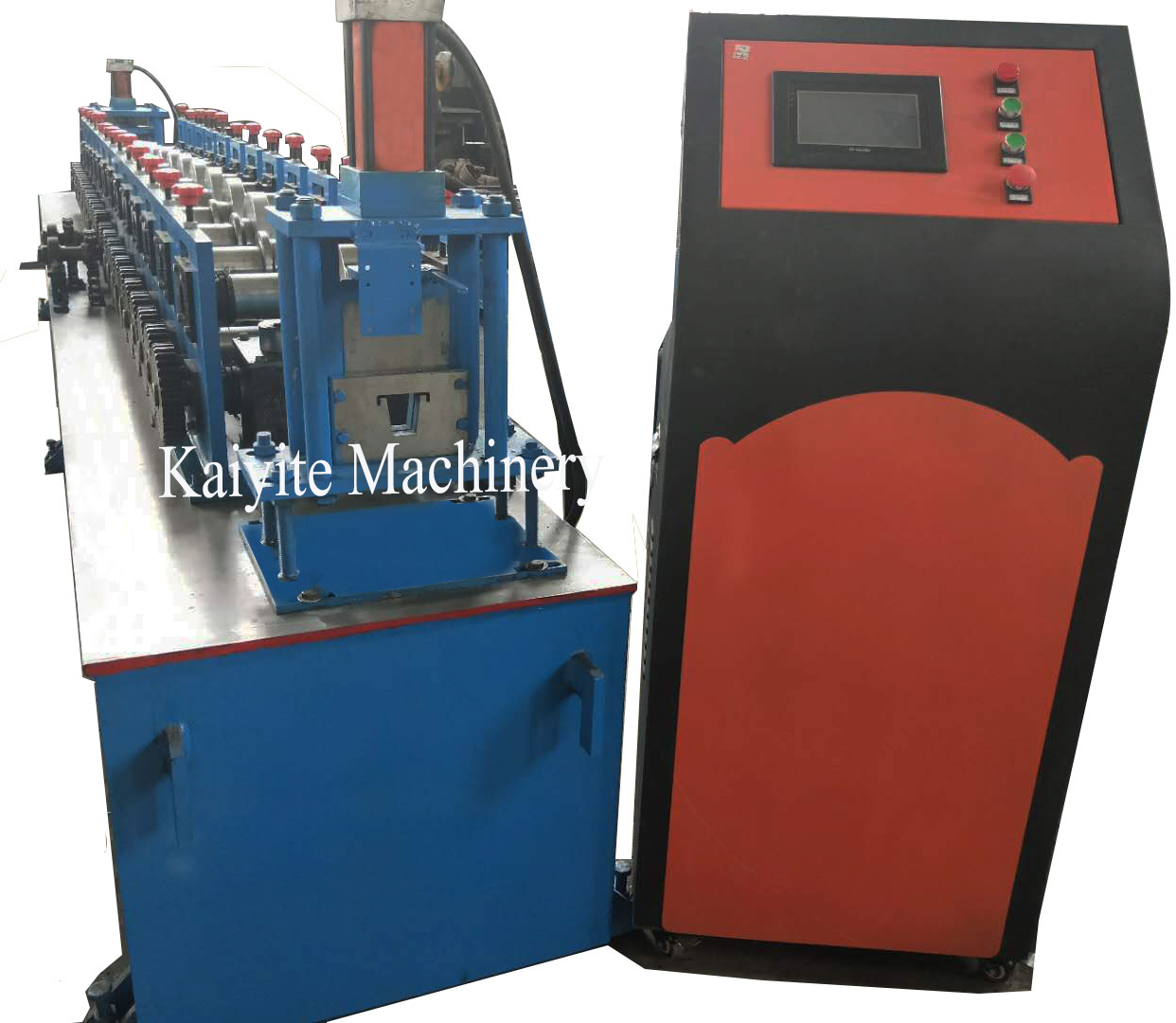 steel omega roof truss roll forming machine