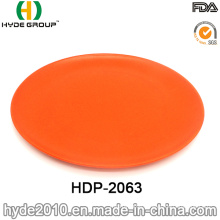 Promotional Eco-Friendly Bamboo Fiber Plate (HDP-2063)