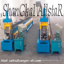Gutter roll forming machine production line