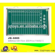 JQ6085 Hotsale Wall- Mountable Blackboard /hanging Teaching Instrument
