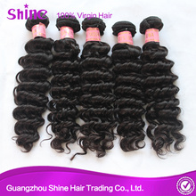 Deep Wave Virgin Real Indian Hair Bundles
