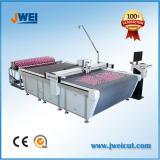 JWEI flatbed digital fabric cutting plotter machine