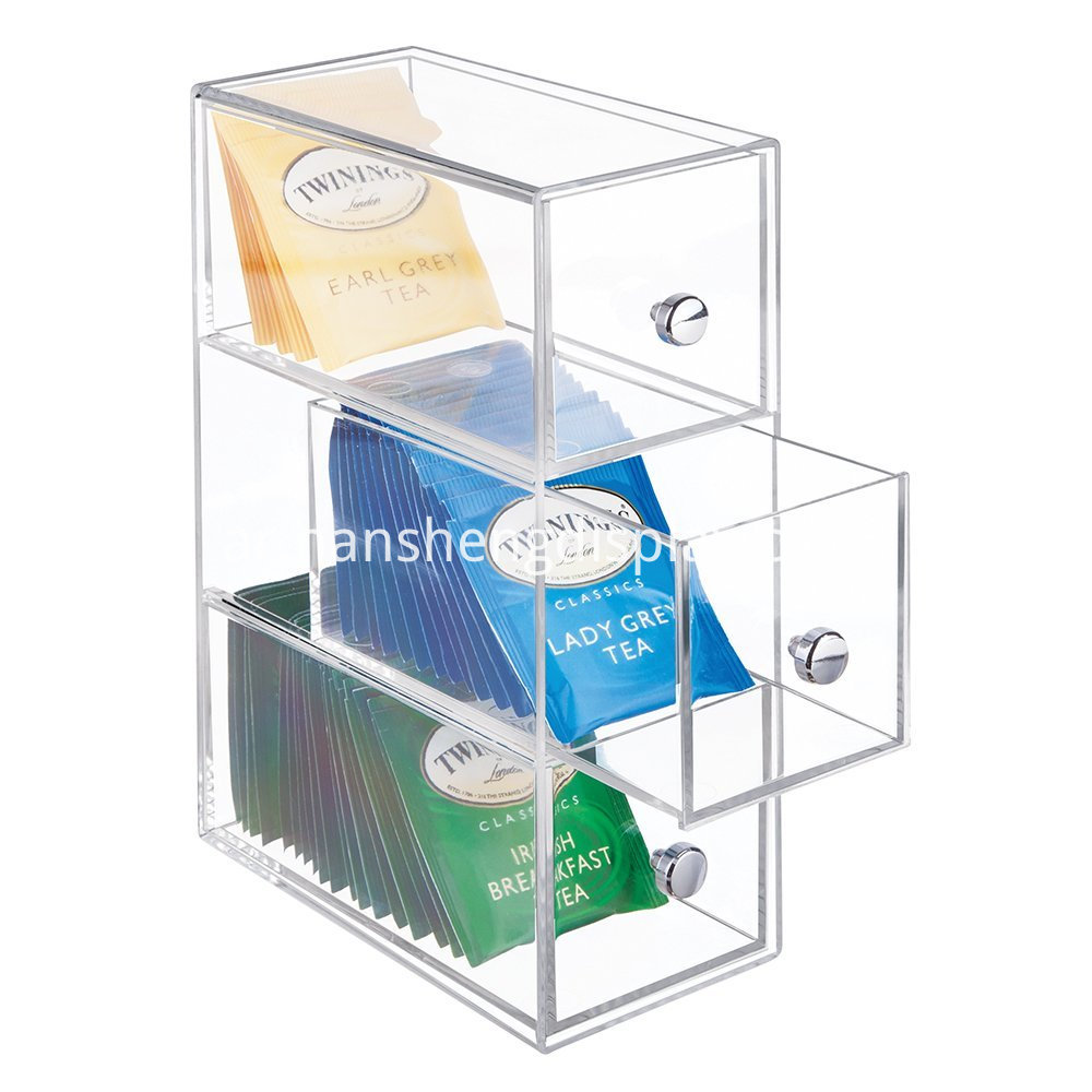Clear Acrylic Drawers Storage