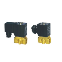 Direct acting and normally opened type 2/2 way solenoid valve 2KW series fluid control valves