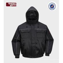 Haute qualité fonctionnant en gros hiver vêtements sécurité pilote combinaison de travail