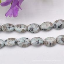 Perles en pierre semi précieuse de motifs décoratifs