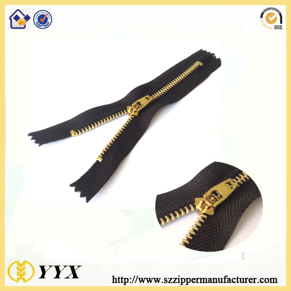 No3 Double Lock Metal Zipper