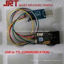 Module de distance de taille de laser de 40m avec le TTL d'USB de 115200bps