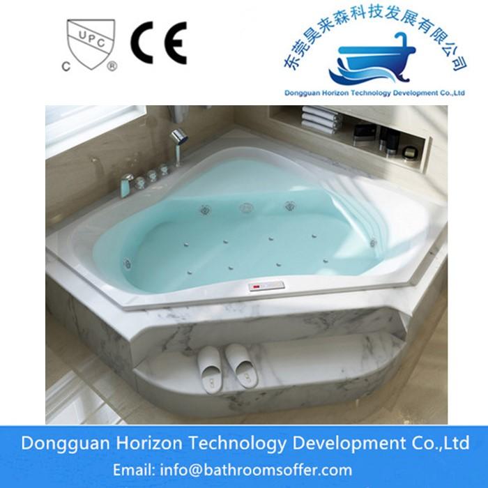 Acrylic Jet Hydrotherapy bathtub China Manufacturer