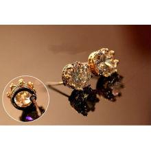 Aleación de cuerpo piercing joyas tiara pendiente