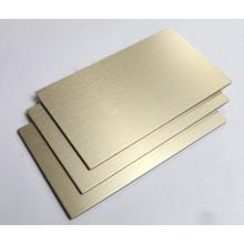 Paneles compuestos de aluminio para decoración de interiores.