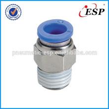 пневматические фитинги мужской прямые ПК разъемы металлические крепления с пластиковой втулкой