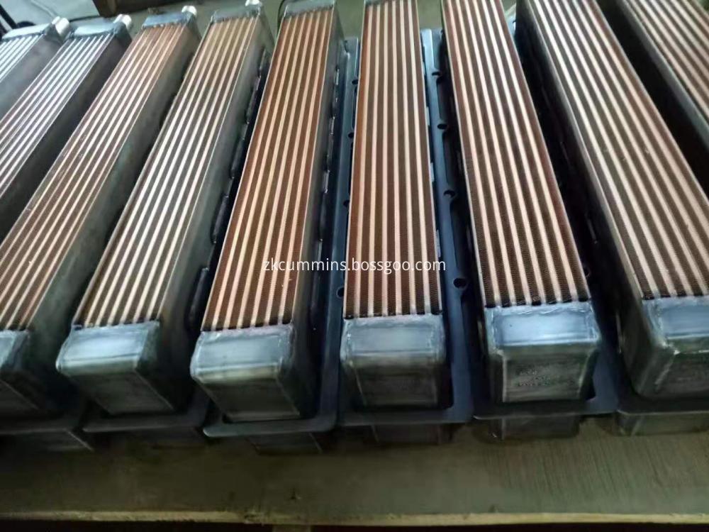 lubricating intercooler core