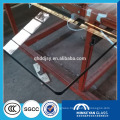 4mm 6mm 8mm 10mm clear stained safety edging tempered glass for office door