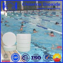 Table de dioxyde de chlore stable utilisée dans le traitement de piscine