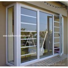 Fenêtres en aluminium à double vitre antivol à la sécurité avec meilleur prix