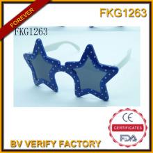 Óculos de armação simples forma de estrela para crianças (FKG1263)