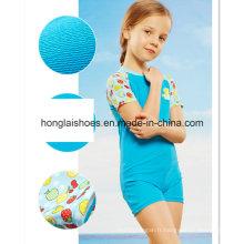 Blue Little Girls Kids Nouveau maillot de bain