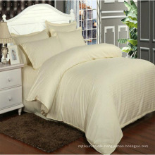 Colored Hotel/Home 1cm Satin Stripe Comforter Covers in Stock (DPF1061)